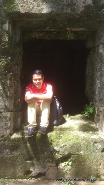 September 17, 2013 - At a Battery Way window in the historic Corregidor Island