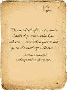 Acid Test of Servant-Leadership