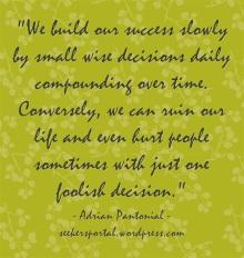 Slow Success