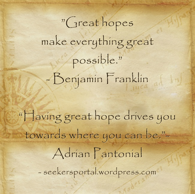 Great Hope Makes You Great