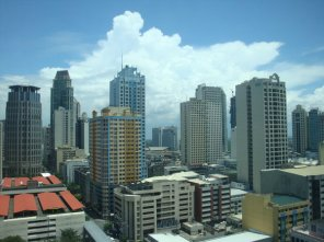 View from Solaris One, Makati City - Taken June 23, 2009