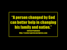 Be Changed by God