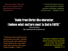 Faith As Gold