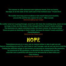 Sparks of Hope
