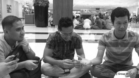 Jayrod Eslao facilitating our Joint Victory Group