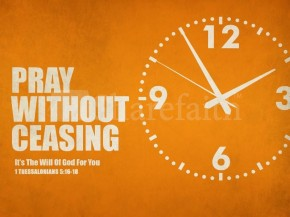 10 Ways to Pray for Busy People