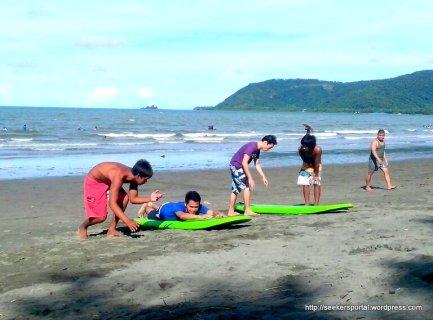 Learning Surfing Basics