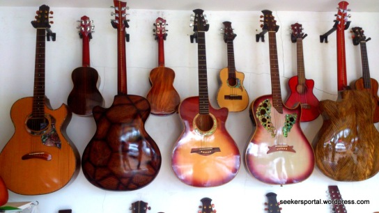 Cebu is where some of the greatest and sturdiest guitars are made.
