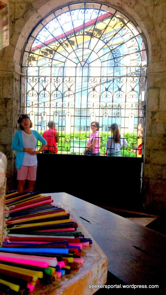 Inside Magellan's Cross Shrine