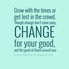 Change Don't Come Easy