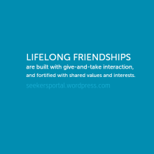 Lifelong Friendships