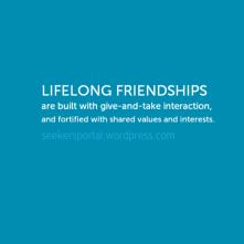 Lifelong Friendships