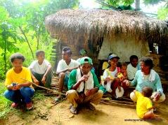 Some Aeta Families in Brgy. Dinalupihan, Bataan