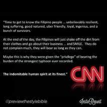 Possibly a well-meaning netizen made this processed CNN Compliment Photo spreading online