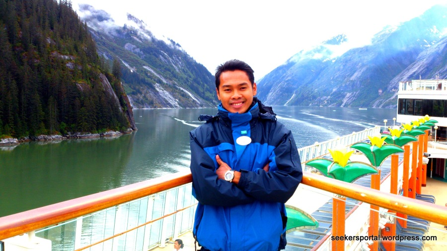 Photo taken last May 20, 2014 on our way to Sawyer Glacier, Juneau, Alaska — feeling blessed.