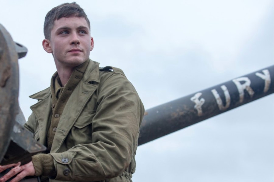 "We cannot become God's masterpiece if we won't go through the necessary process of molding, breaking, and refinement. [Photo: Logan Lerman in the film ""Fury."" Watch it!]"