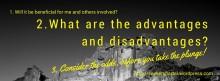 3-point Risk Assessment: When Adventure Calls