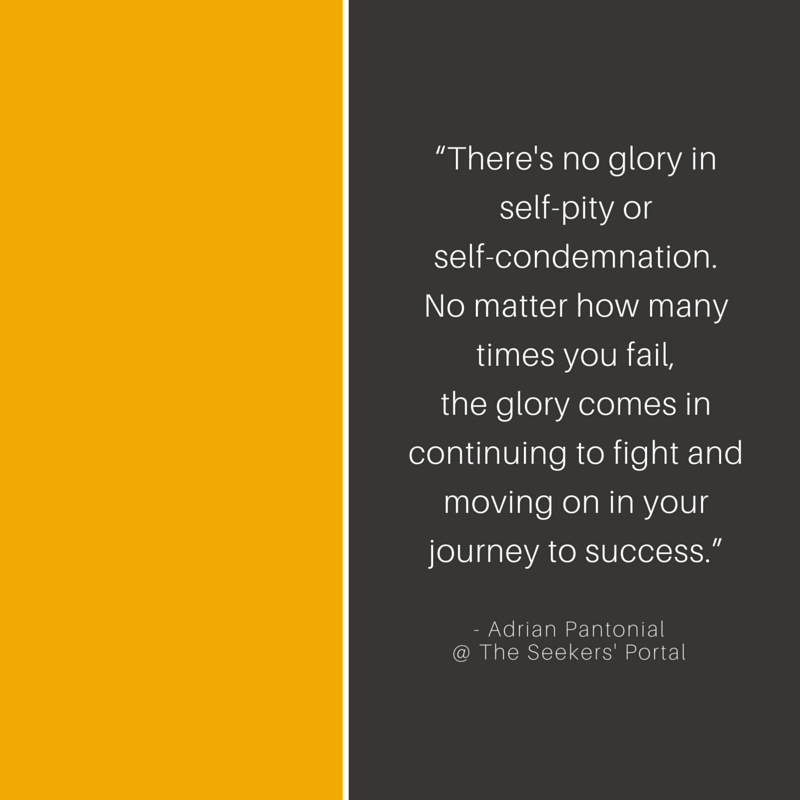 Adrian Pantonial - Glory in Trying