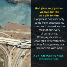 Adrian Pantonial - Happiness and Joy