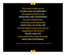 Adrian Pantonial - Alone and Vulnerable