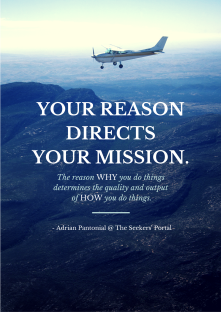 Adrian Pantonial - Reason Directs Mission