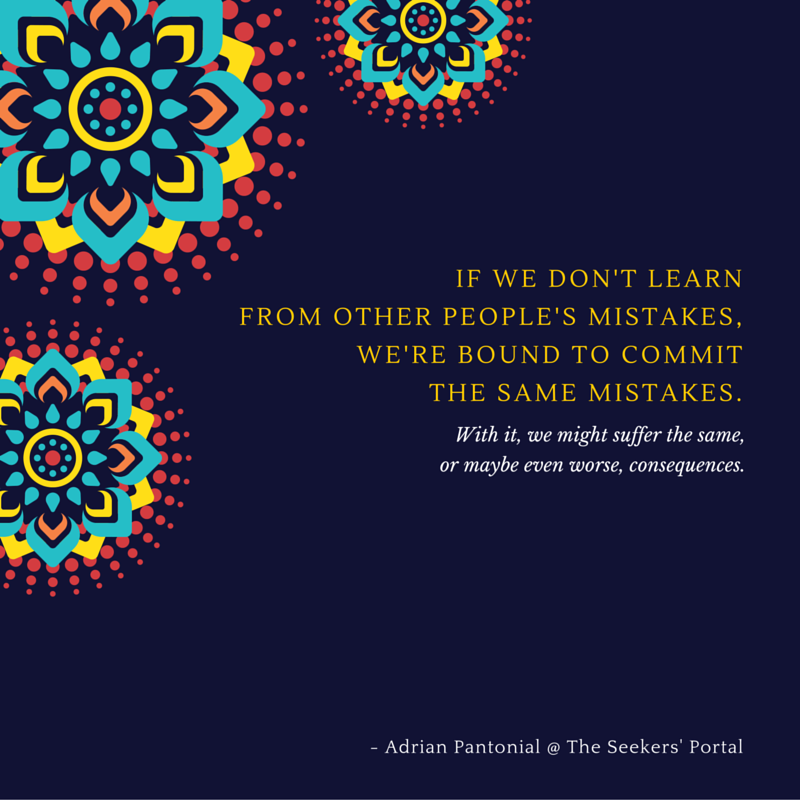 Learn from Others - Adrian Pantonial