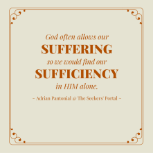 Suffering for a Cause - The Seekers' Portal